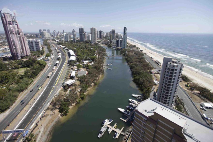 Surfers Paradise Street Circuit, Queensland, Australia