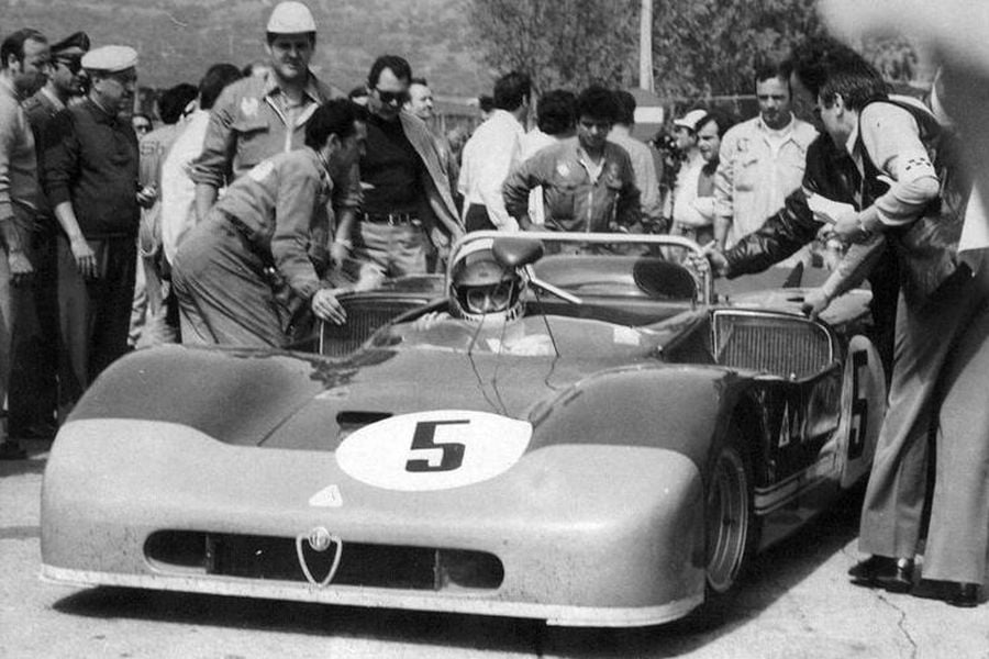 Toine Hezemans and Nino Vaccarella triumphed at 1971 Targa Florio