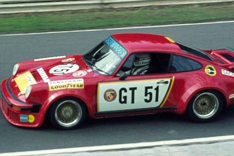 Toine Hezemans in his Porsche 934