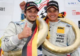 Mario and Dominik Farnbacher, VLN Lexus