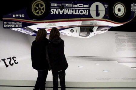 Donington museum of Formula One cars, England