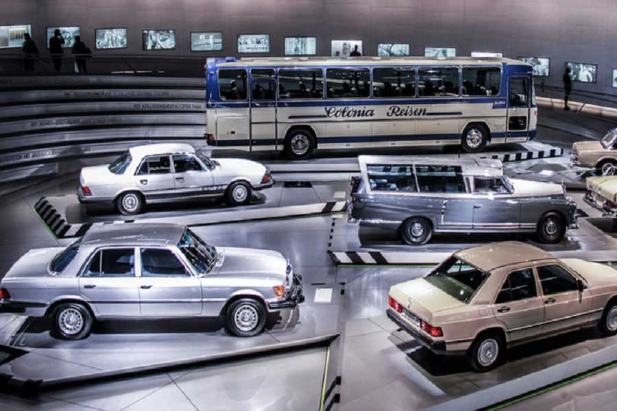 Mercedes museum in Germany