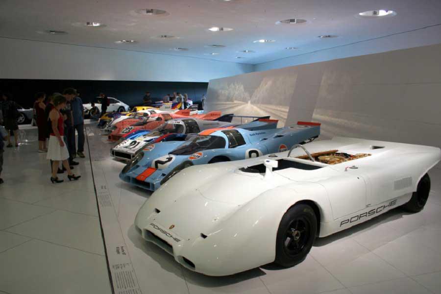 Porsche Museum in Germany