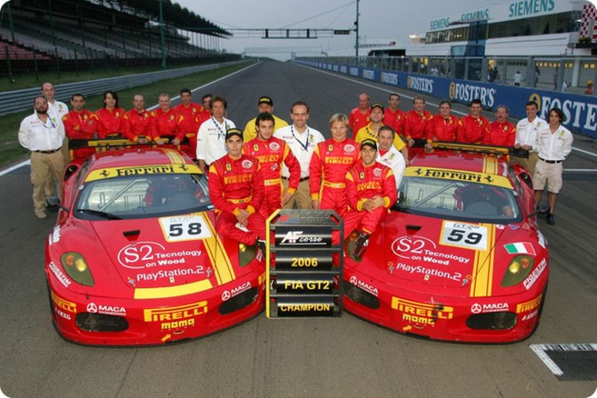 Af Corse A Synonym For Racing With Ferrari Snaplap