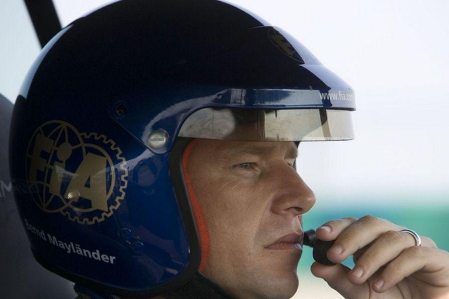 Bernd Mayländer serves as Formula 1 Safety Car driver since 2000