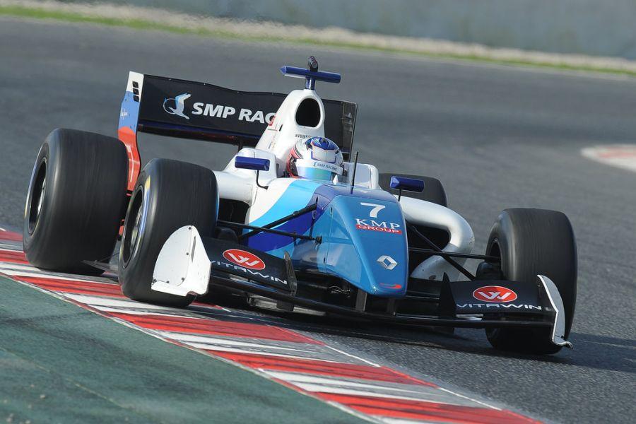 Egor Orudzhev, Formula V8 3.5, Barcelona