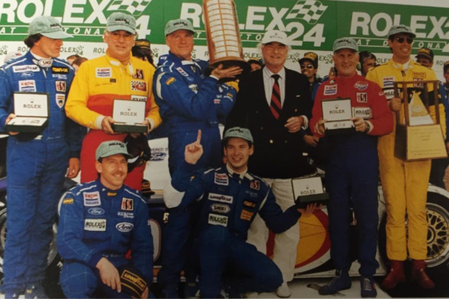 1997 Daytona 24 Hours, Dyson Racing, seven winners