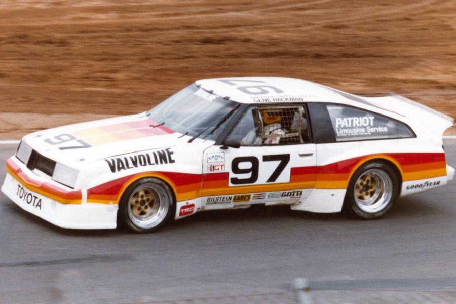 Gene Hackman's #97 Toyota Celica