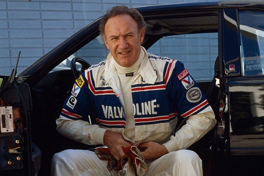 American celebrity racer Gene Hackman