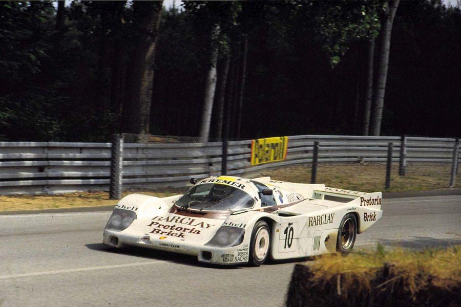 George Fouche's #10 Porsche 956 at 1985 Le Mans 24 Hours