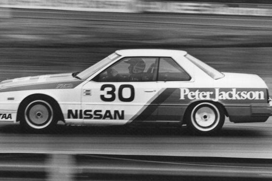 George Fury reached his only Bathurst podium in the #30 Nissan Skyline