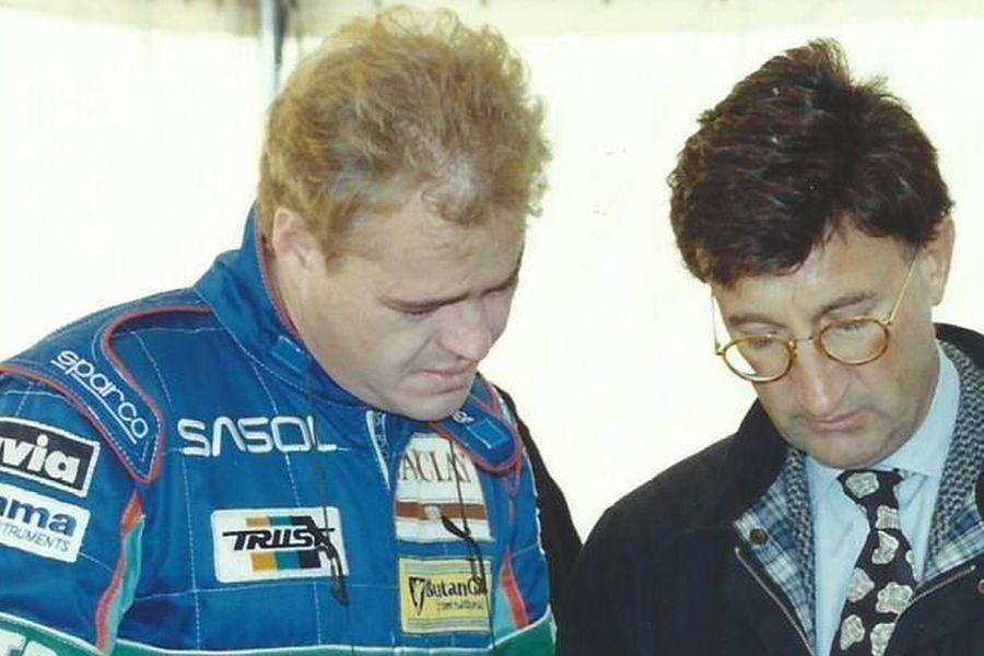 George Fouche and Eddie Jordan