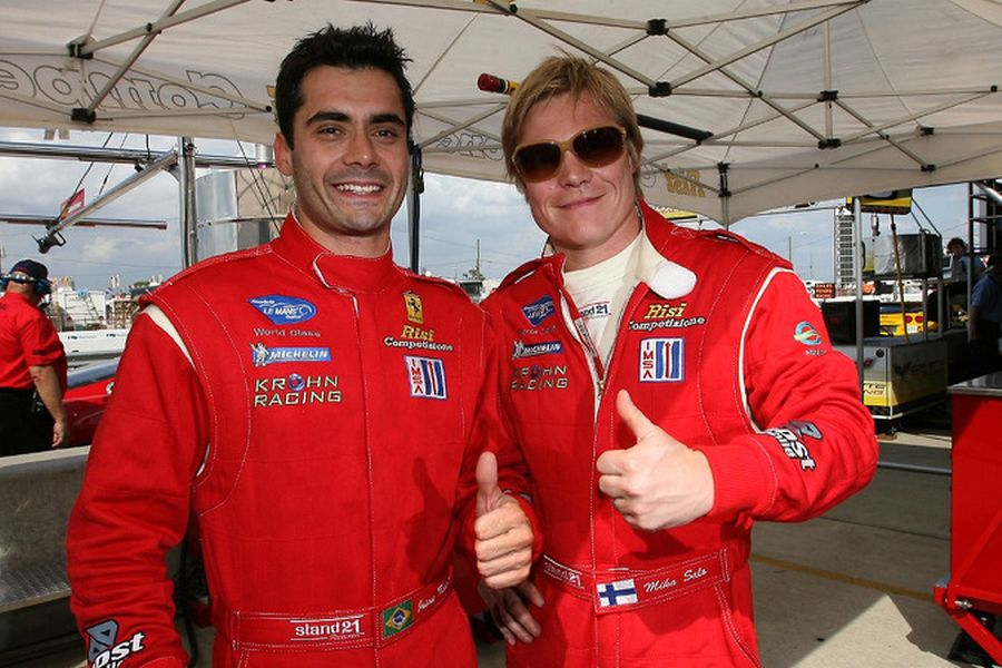 Jaime Melo and Mika Salo in 2007