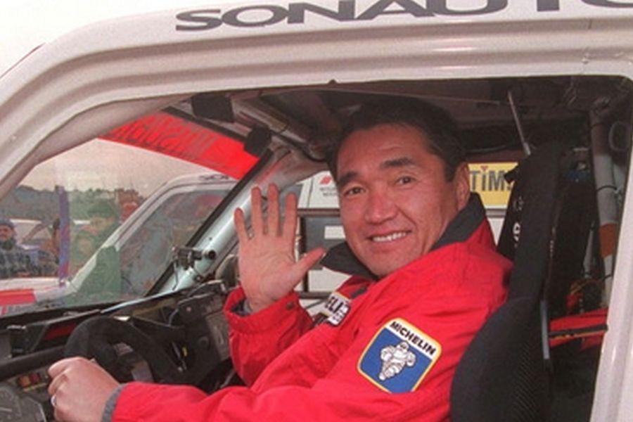 Japanese rally legend Kenjiro Shinozuka
