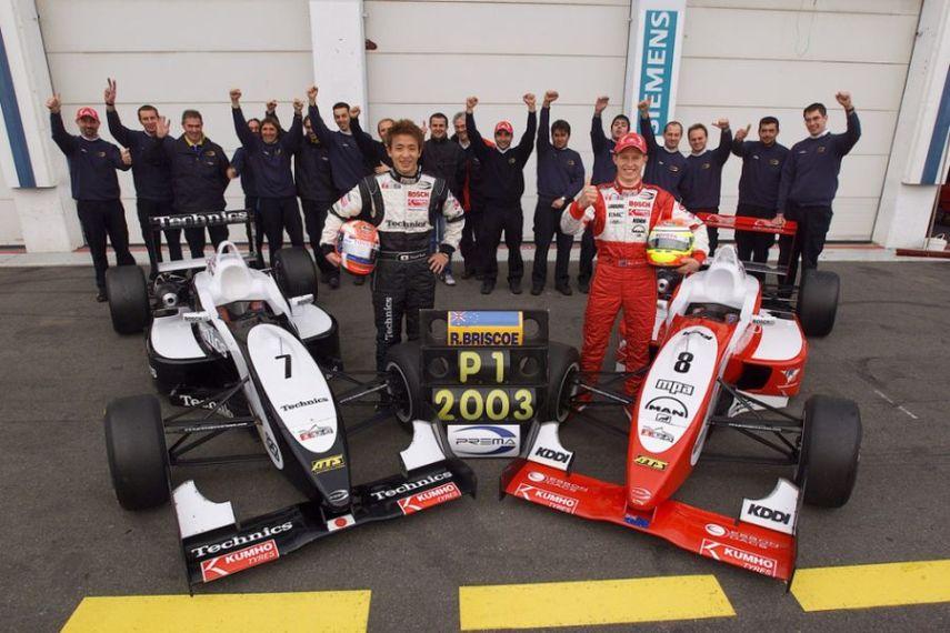 Ryan Briscoe, Prema Powerteam, 2003