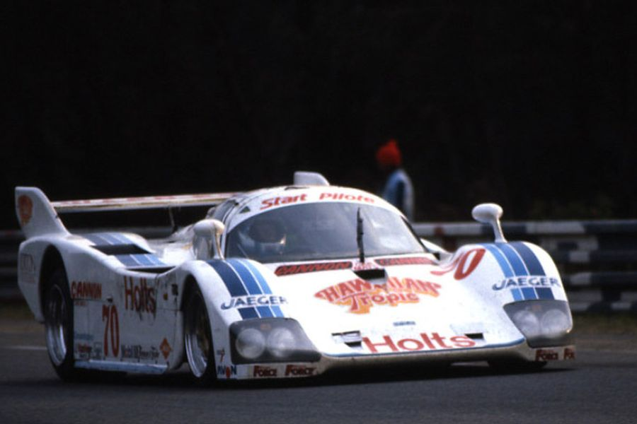 Ray Bellm's Spice-Tiga in 1985