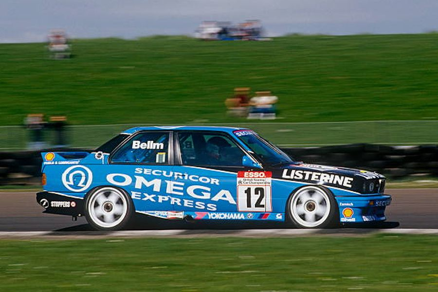 Ray Bellm's BMW M3 in 1991