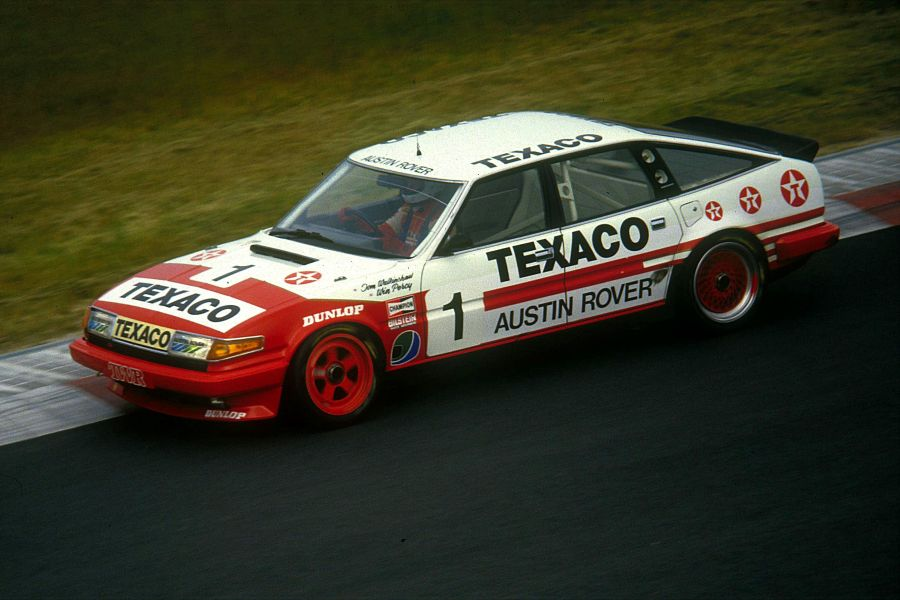 Tom Walkinshaw 1985 rover vitesse