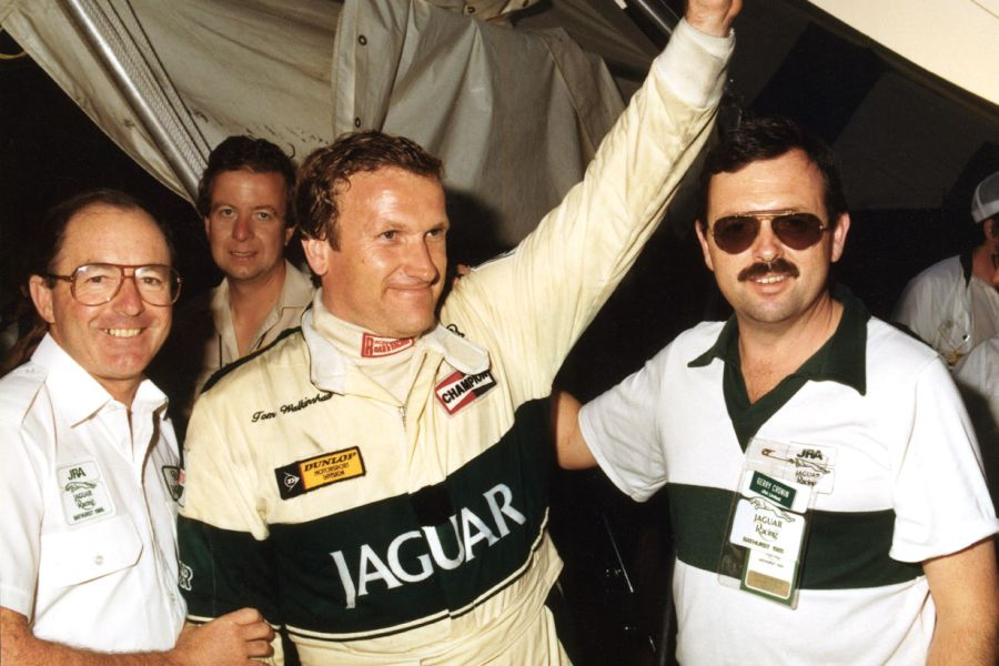 Tom Walkinshaw was the 1984 European touring car champion with Jaguar