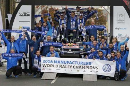Volkswagen Motorsport, 2016 WRC champions