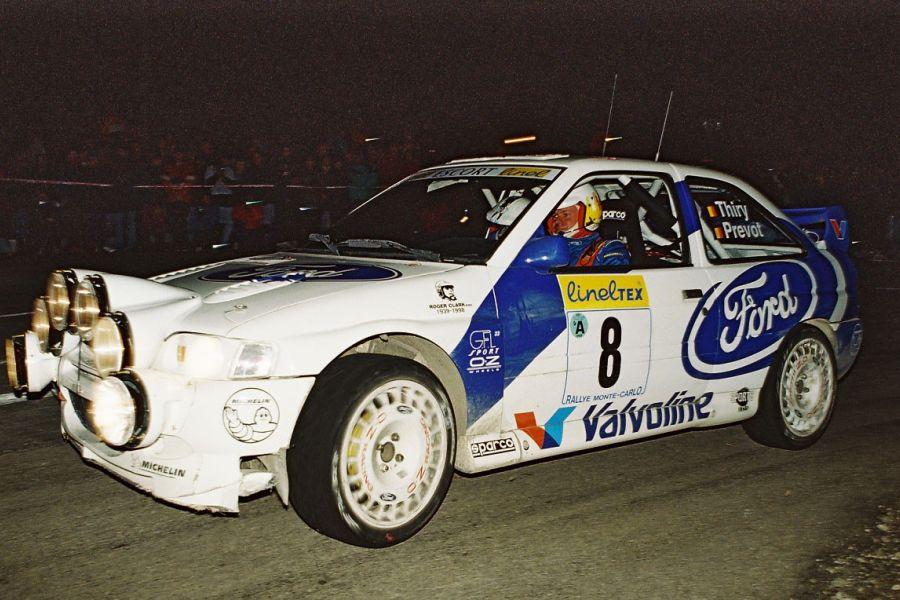 Bruno Thiry, Ford Escort WRC, 1998 Rallye Monte-Carlo