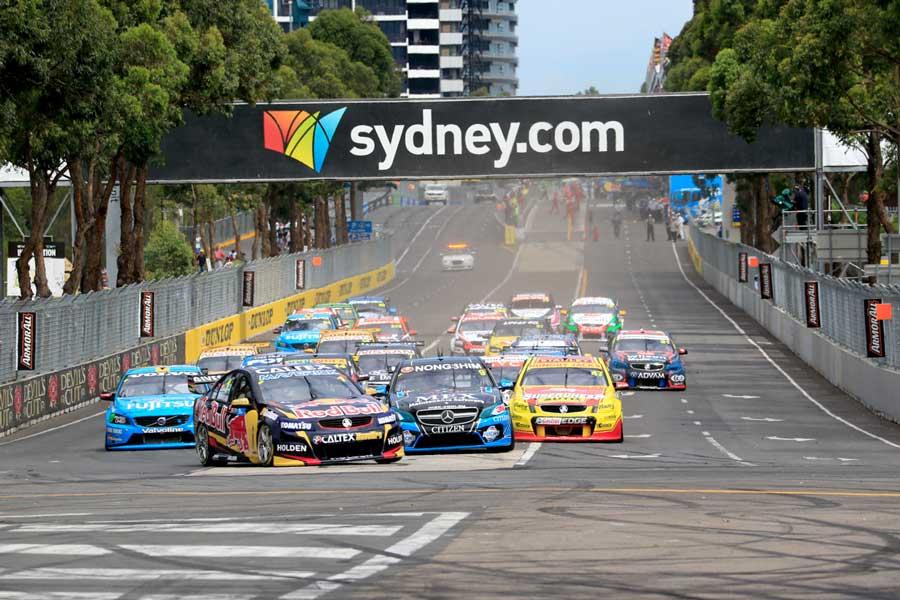 Homebush Street Circuit Sydney
