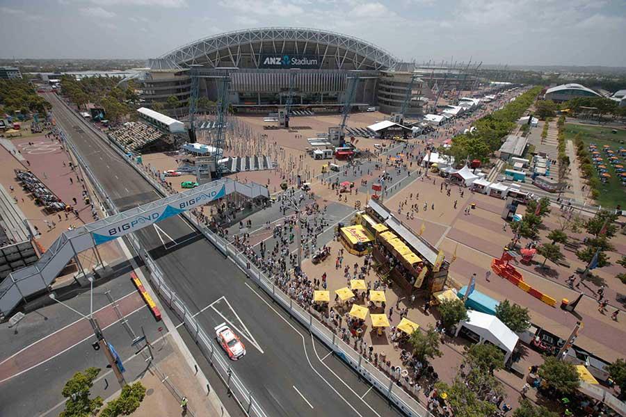 Sydney V8 Supercars event south