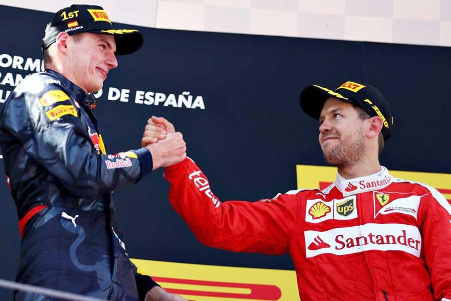 Max Verstappen Sebastian Vettel