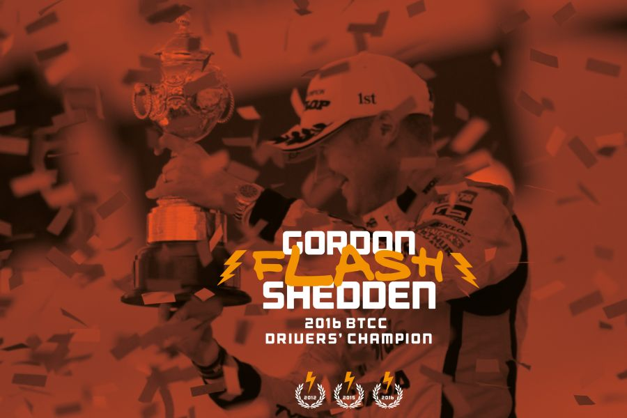 2016 BTCC champion Gordon Shedden