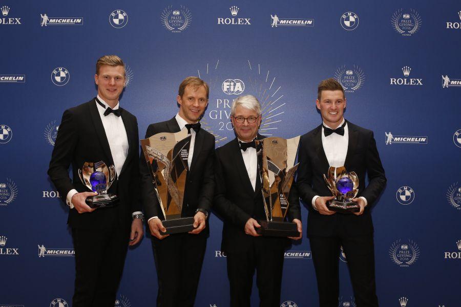 2016 World Rallycross Championship prize giving
