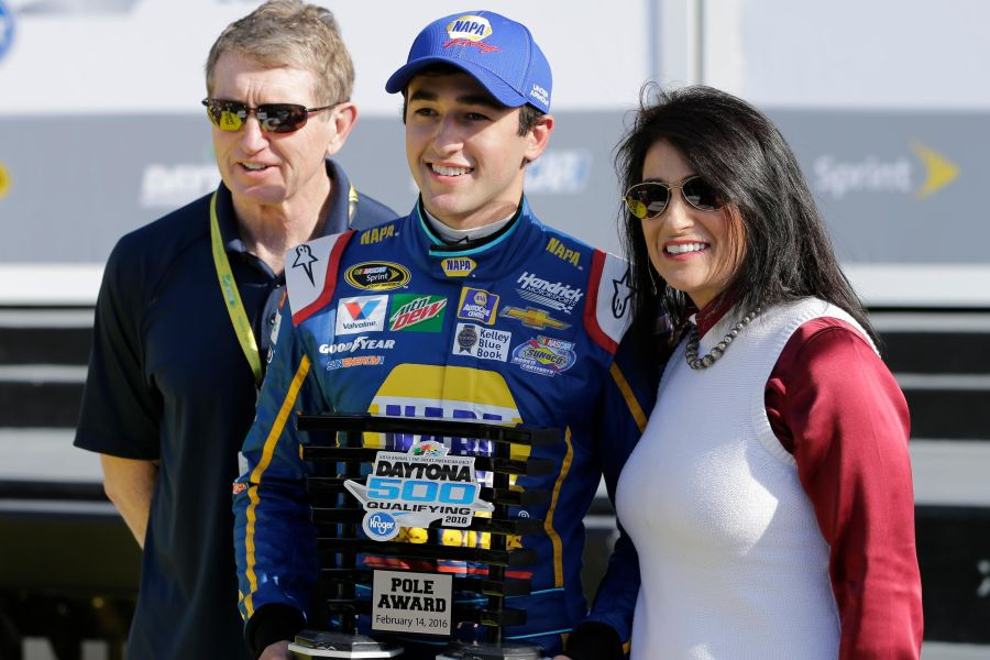 Chase Elliot - Daytona 500 poleman and the Rookie of the Year