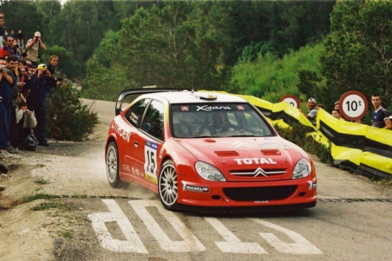 Jesus Puras at 2001 Tour de Corse