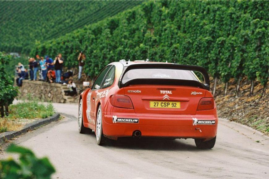 Sebastien Loeb at 2002 ADAC Rallye Deutschland