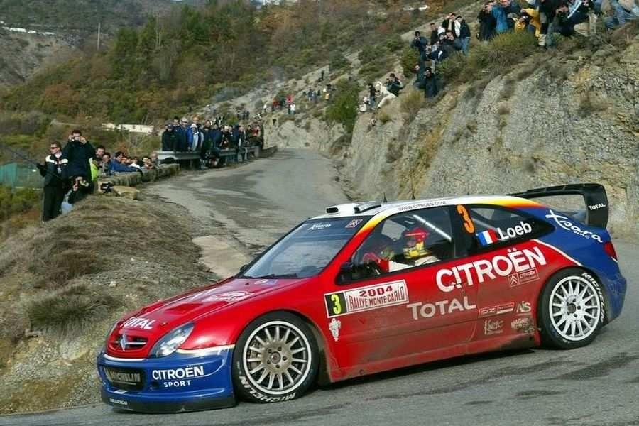 Citroen Xsara WRC, 2004 Monte Carlo, Sebastien Loeb