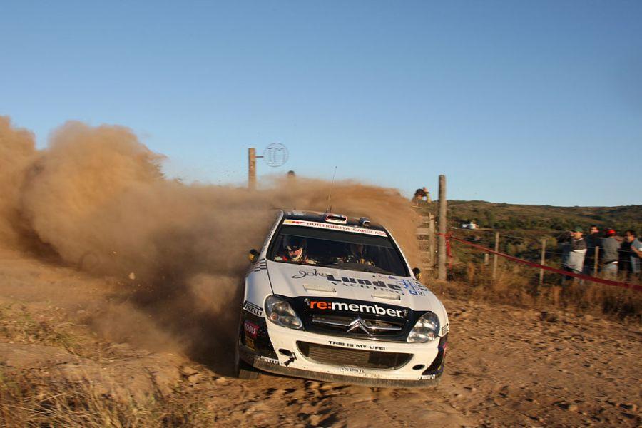 Petter Solberg, 2009 WRC Citroen Xsara