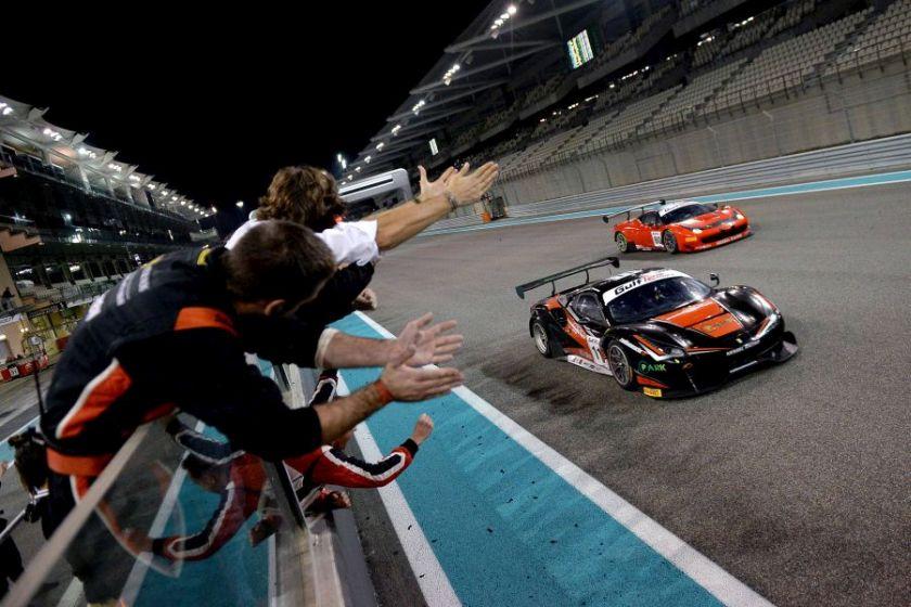 Gulf 12 Hours, Abu Dhabi Yas Marina, Kessel Racing