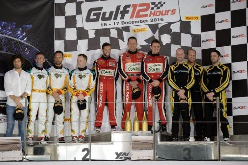 2016 Gulf 12 Hours podium
