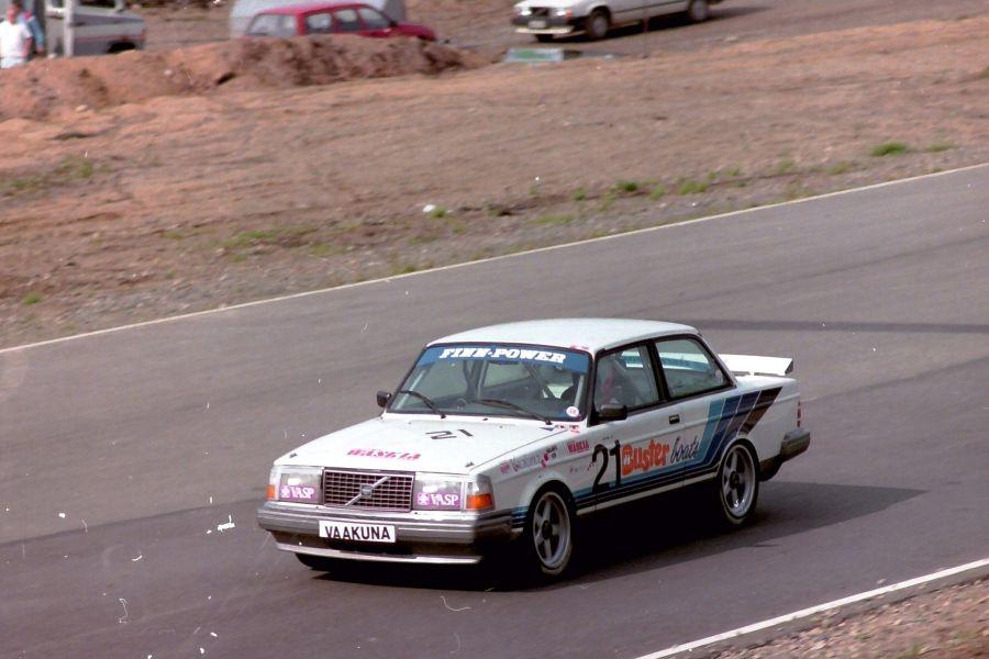 Harri Toivonen, 1988 Kemora 500, Volvo 240 Turbo