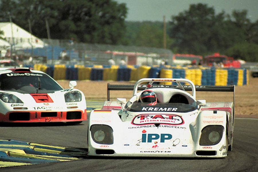 Toivonen was driving the #1 Kremer K8 Spyder-Porsche at 1996 Le Mans 24 Hours
