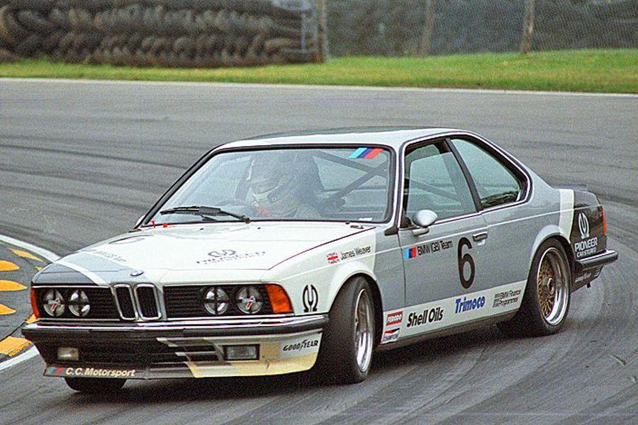 James Weaver's BMW 635 CSi in 1984
