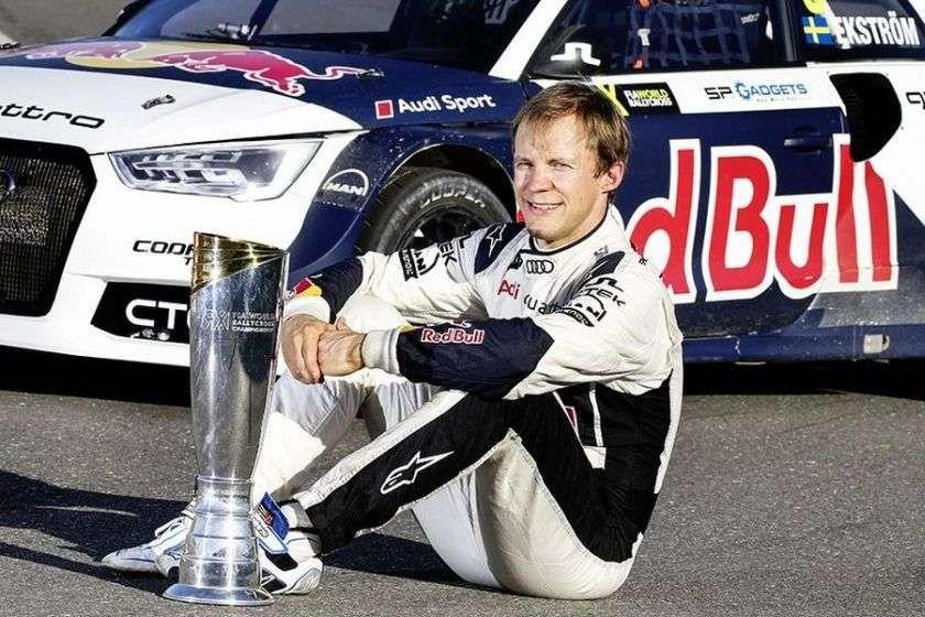 Mattias Ekstrom, EKS RX, 2016 World RX champion