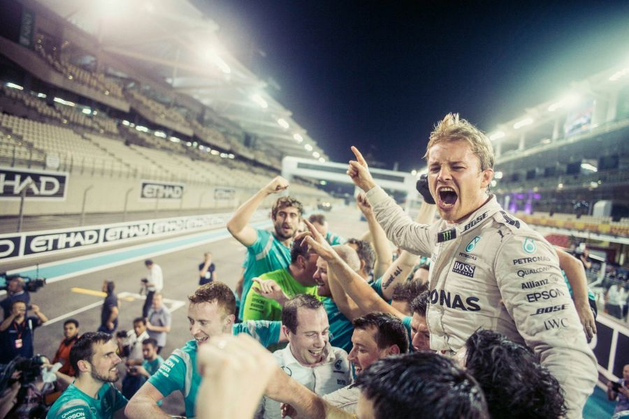 Nico Rosberg, 2016 Formula 1 champion