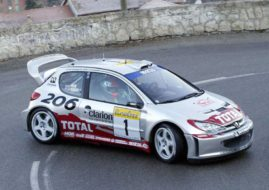 Peugeot 206 WRC, 2002, Richard Burns