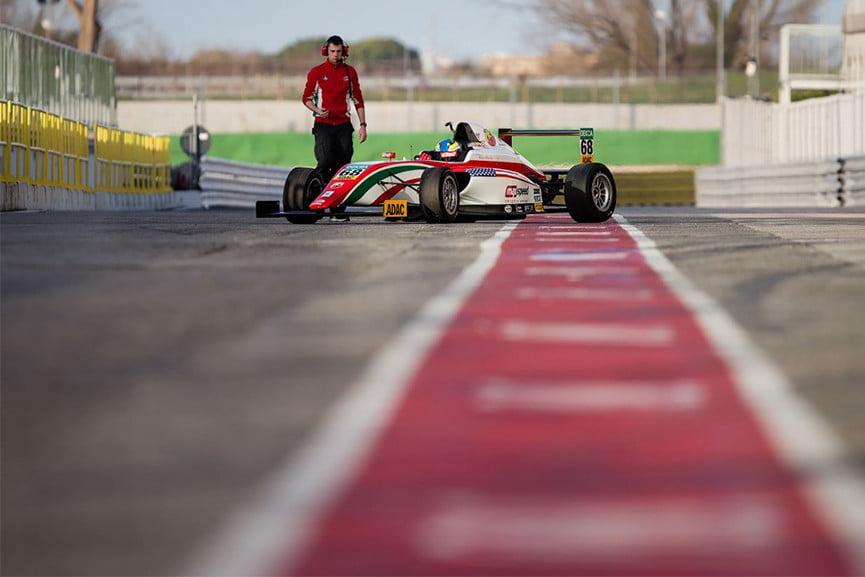 Prema Powerteam, F4 test, Misano, 2016