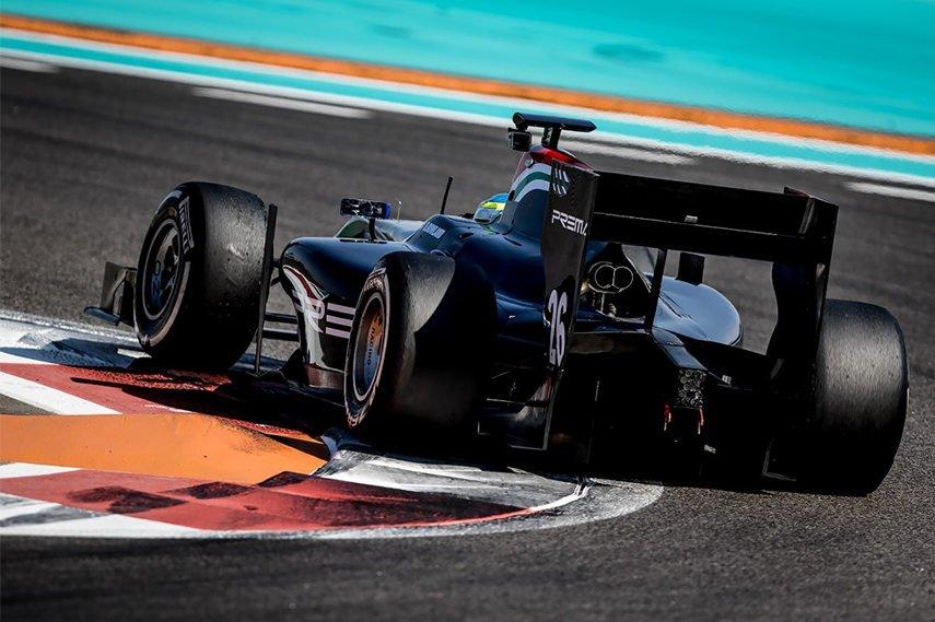 Prema Powerteam GP2 Series, Abu Dhabi test, 2016