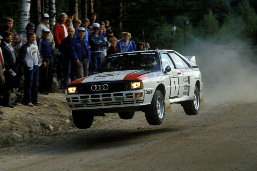 1983 Rally Finland, 1000 Lakes Rally, Hannu Mikkola