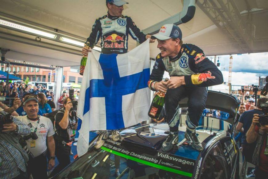 Jari-Matti Latvala, Volkswagen Motorsport team, 2015 Rally Finland