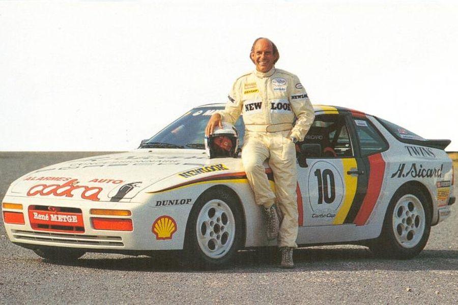 Rene Metge in 1987