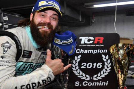 Stefano Comini, 2016 TCR International Champion