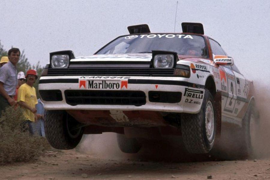 1990 WRC, Carlos Sainz, Toyota Celica GT-4 ST165